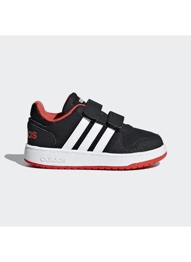 adidas Hoops 2.0 Cmf Çocuk Günlük Ayakkabı B75965 Siyah
